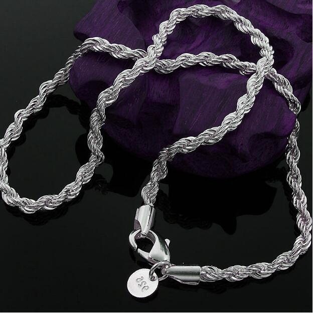 Anklet Foot-Jewelry Chain CA Fashion Women Ankle Bracelet 925 Sterling Silver