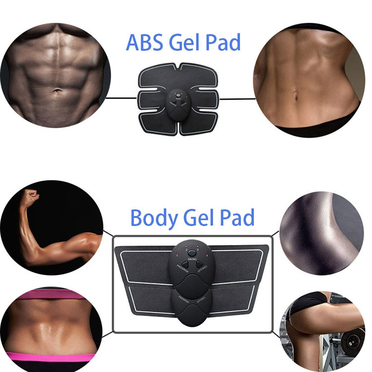 usb charger EMS Trainer Abdominal Muscle Stimulator (5)