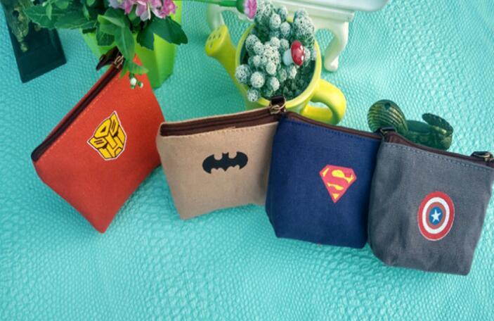 Portafoglio Superman Nero per ragazzi-Ottimo per un Bambini Natale Stocking Filler