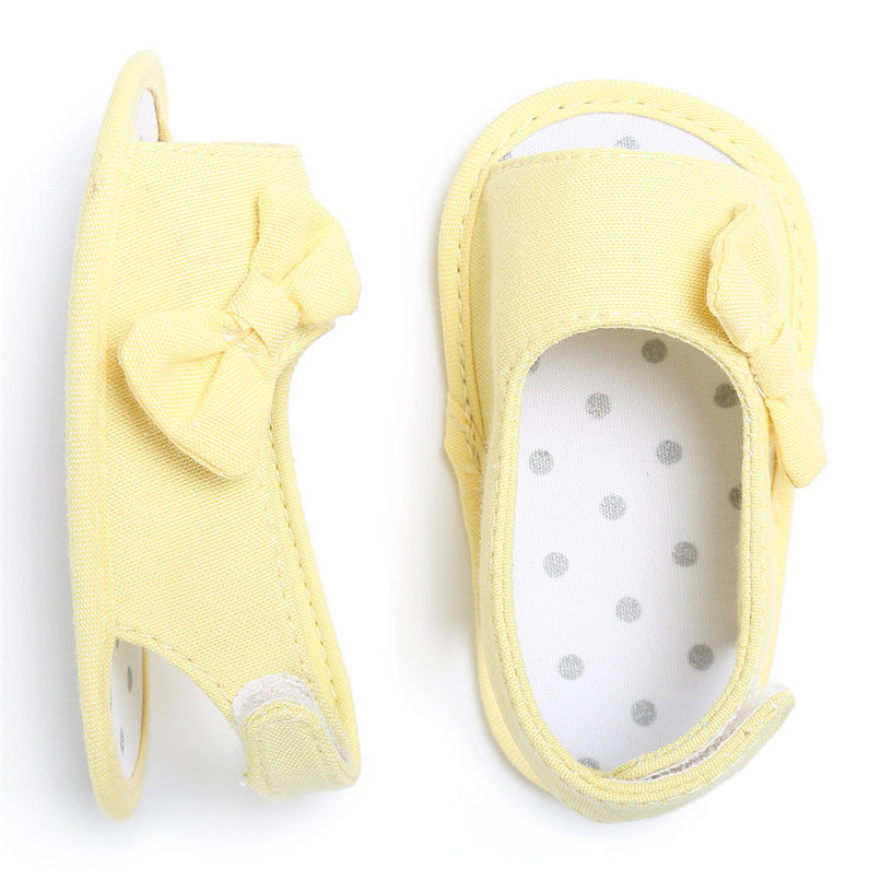 Summer Baby Shoes Newborn Toddler Baby Girl Soft Sole Bowknot First Walker Crib Prewalker Shoes NDA84L24 (20)