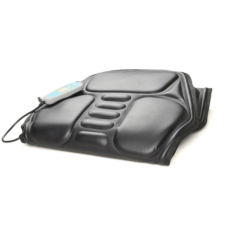 8 IN 1 Home Office Auto Fahrzeug Stuhl Sitz Fahrzeug Elektrische Vibration Massage Rückenlehne Entlastung Lendenwirbelsäule Rückenschmerzen