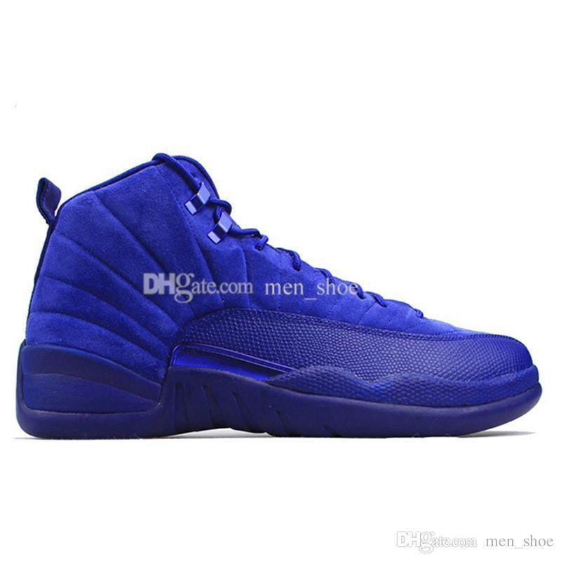 basquete 12 12s homens sapatos quentes trigo cinza escuro bordeaux gripe jogo o mestre de táxi playoffs universidade gama francês azul tênis de esportes de lã