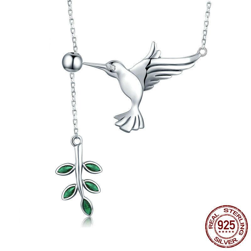 Niedliche kleine Tier Vogel Anhänger Halsketten 925 Silber Geburtstagsgeschenk