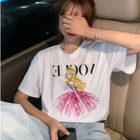 Femme Plus Size T-Shirt Femme Paillettes Crâne Têtes Forever Young Jersey Tee Top