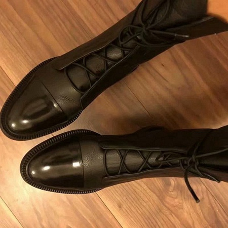 2019 Marken-Art- und Luxus Designer Damenschuhe Mid Superstar New starke Ferse Stiefel Hohe Qualität Booties