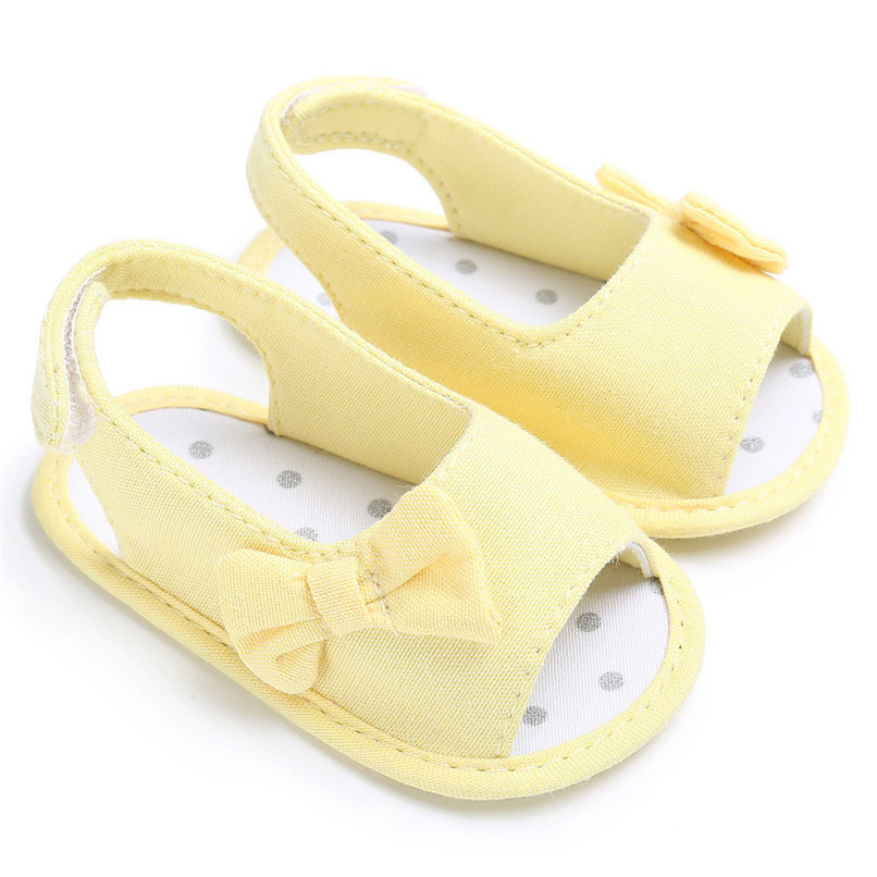 Summer Baby Shoes Newborn Toddler Baby Girl Soft Sole Bowknot First Walker Crib Prewalker Shoes NDA84L24 (16)