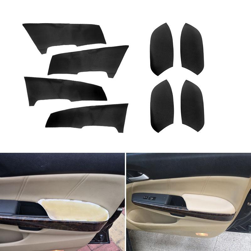 Panel Leather Cover For Honda CRV CR-V 2012-2017 Interior Door handle Armrest