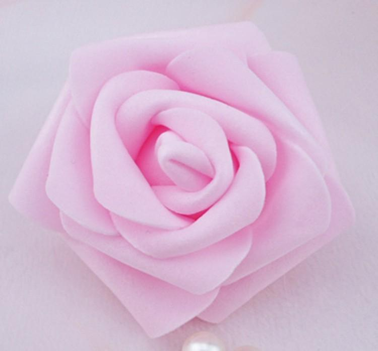 High Quality 50pcslot 7cm Foam Rose Heads Real Touch New PE Kissing Balls For Weddings DIY Wedding Table Centerpieces 8 Colors (8)