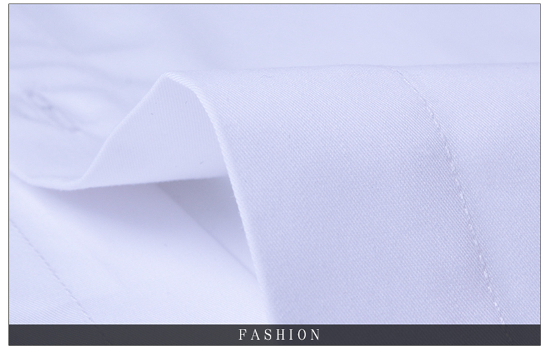 BROWON Brand New Formal Shirt Men Short Sleeve Shirt Turn Down Color Slim Fit Casual Shirt Plus Size M-5XL Camisa Masculina16