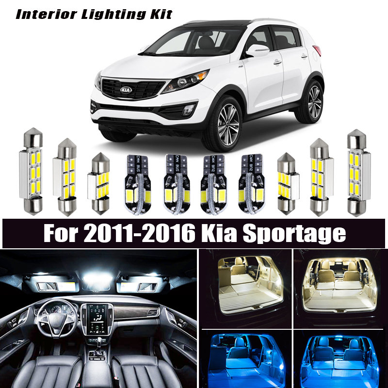 INTERIOR CEILING LED SMD Bulbs KIT WHITE CAN BUS fit BMW X3 F25 2011