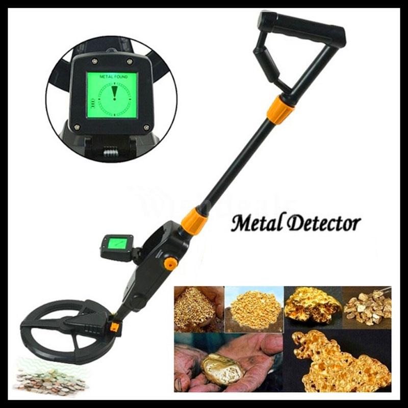 Détecteur de métaux Souterrain MD-1008A Outil de recherche de plage Souterrain Gold Treasuer Digger LCD Diaplay Pièce de monnaie Detect Finder Digger Hunter