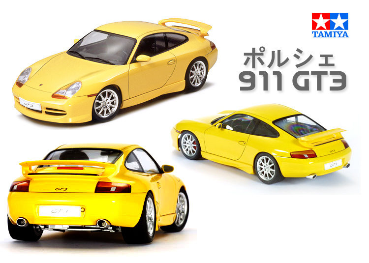 Tamiya Assembled Model 1:24 Super Sports Car 911 GT3 Plastic Kit Toy Car Model Gift Collection