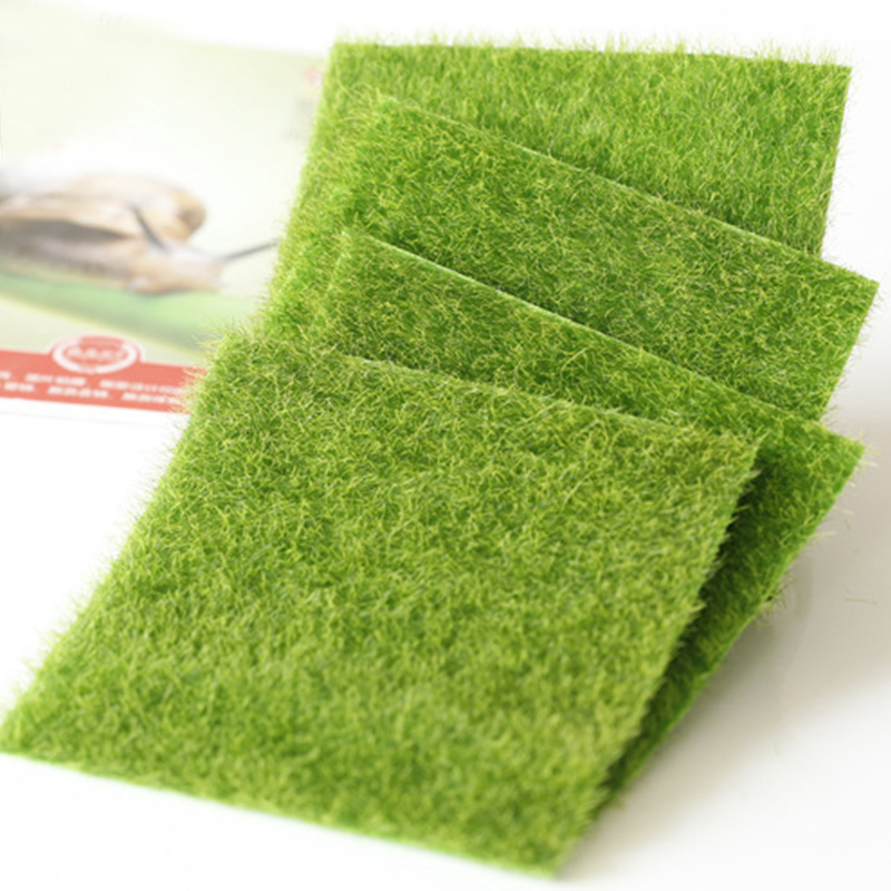Flores Wedding Moss Grass Micro Artificial Landscape Real Touch For Home Fake Flowers Lawn Foliage Moss C19041302