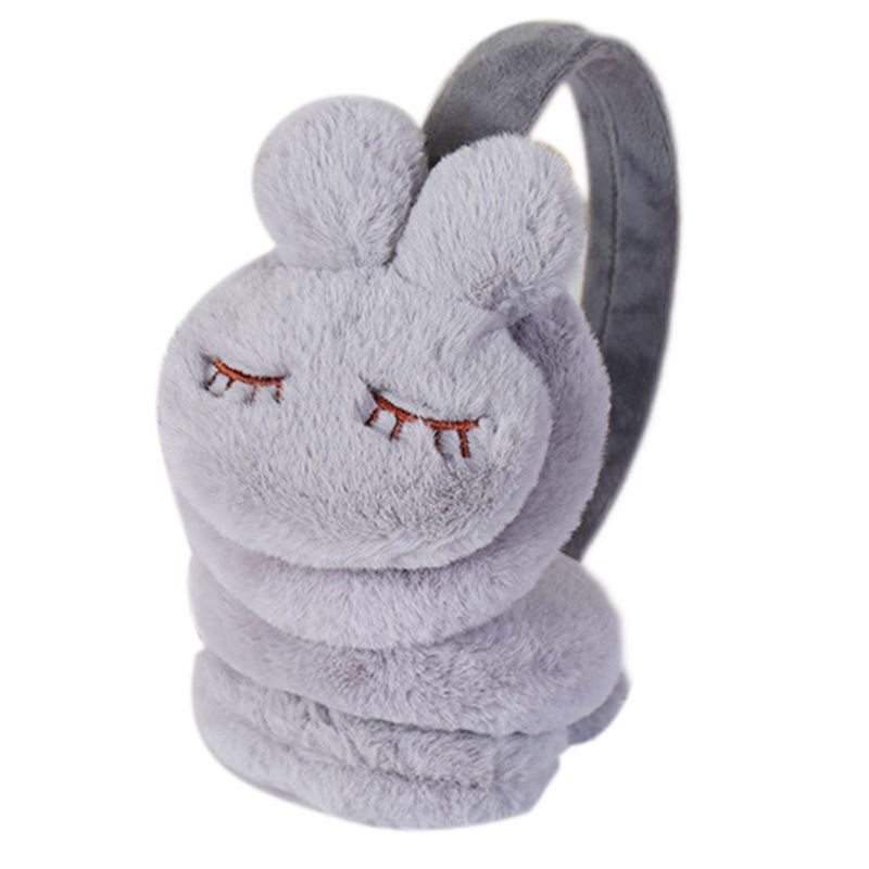 Winter Solid Color Unisex Fleece Warm Earmuff Thicken Plush Ear Cover