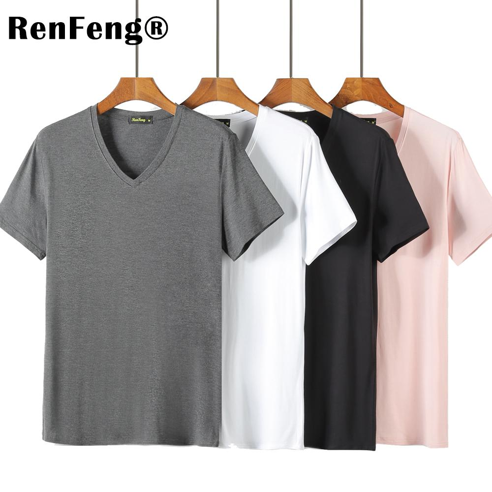 2018 Summer Brand Men's Short-sleeved Cotton skinny T-shirt Shirt Solid Casual O-Neck Male Tops & Tees Plus Size Under Shirt (3)