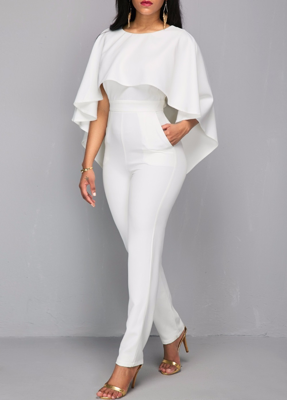 Impollinare Taglia scorta  2020 Rompers Womens Jumpsuit Body Bodies Woman White Jumpsuit For Women White  Romper Europe And The United States Jumpsuits Rompers T5190614 From  Linjun05, $29.44 | DHgate.Com