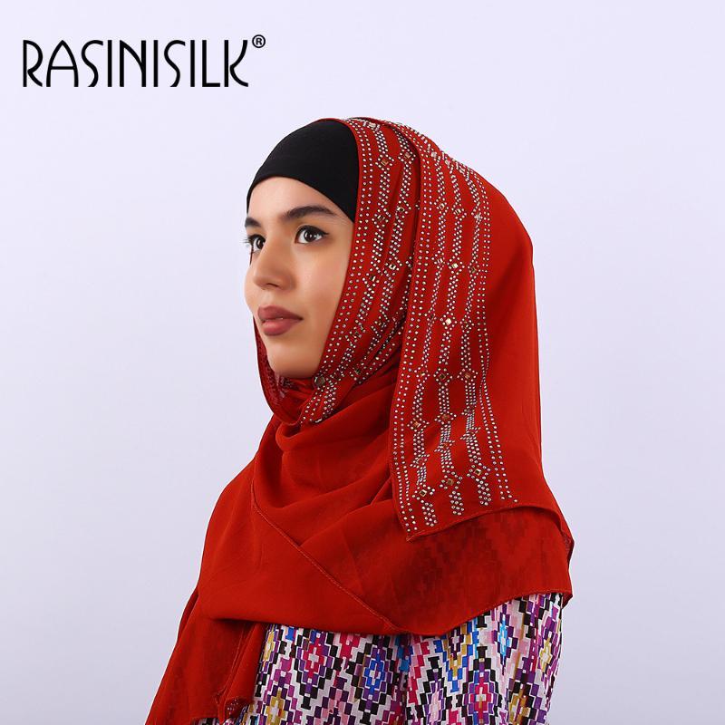 Plain Silky Shimmer Chiffon Maxi Scarf Women Shawl//Vintage//Hijab//Design//Viscose