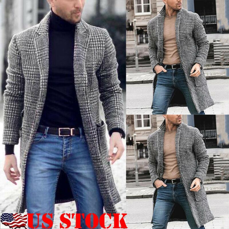 Mens Plus Velvet Warm Fur Collar Slim Fit Denim Jacket Coat Tops for Winter
