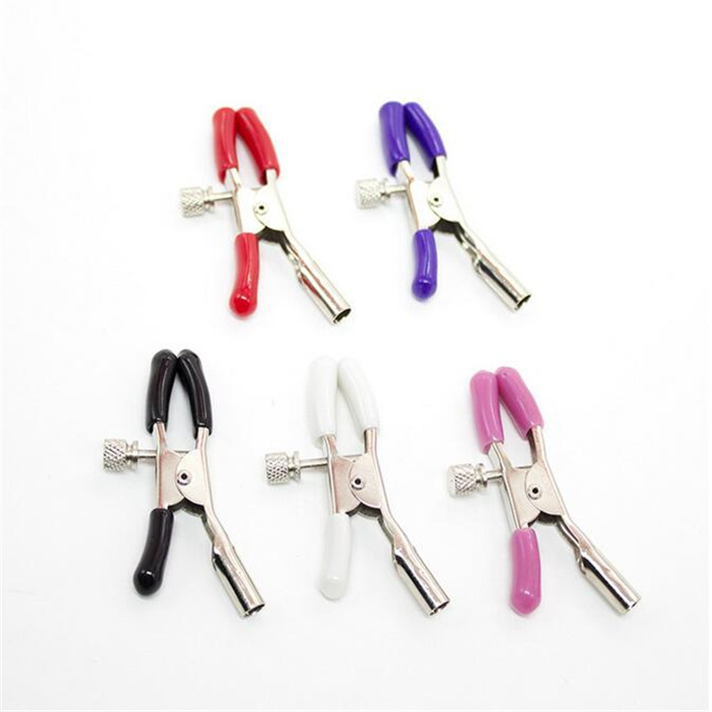 New Multicolor Nipple Clamps Flirt Sex Love Erotic Toys Adult Games Sexy Nipple Toys Role-play Sex Toys for Couples Single clip C18122501