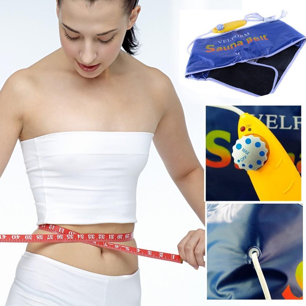 110 V 220 V Queima de Gordura Perda de Peso Sauna Cinto De Aquecimento Da Cintura Tummy Shapewear Broca Lumber Brace Suporte Emagrecimento Suar Envoltório