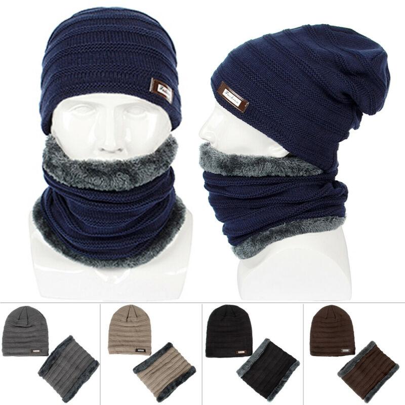 Unisex Hip-Hop Bonnet chaud d/'hiverTricot laine Bonnet ski Chapeau Skull Slouch