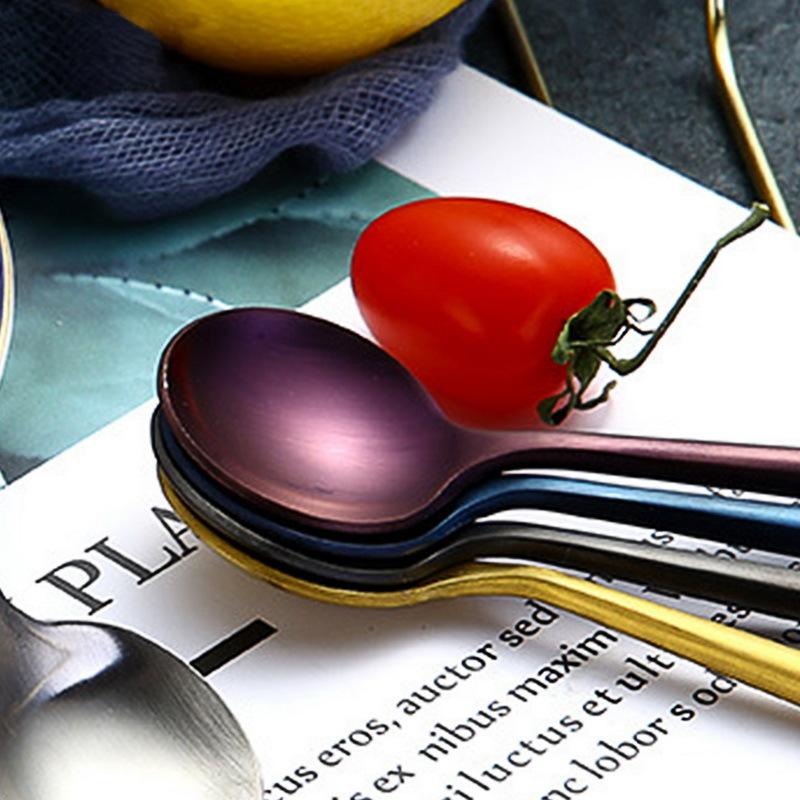 Hoomall European Style Dinner Set Cutlery 304 Stainless Steel Dinnerware Set Portable Knife Party Restaurant Tableware C18112701