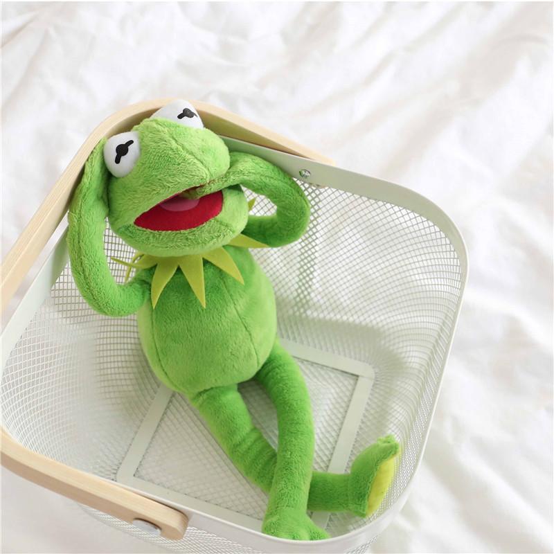 Hot-Sale-40cm-Kermit-Plush-Toys-Sesame-Street-frogs-Doll-Stuffed-Animal-Kermit-Toy-Drop-shipping (5)