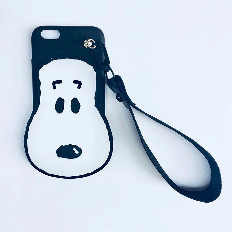 For iPhone 7 Soft Silicone Case for iPhone 6 Case X 7 8 6s plus 5 5s SE New 3D Cartoon Dog Cover For iphone X Phone Cases 8 plus (4)