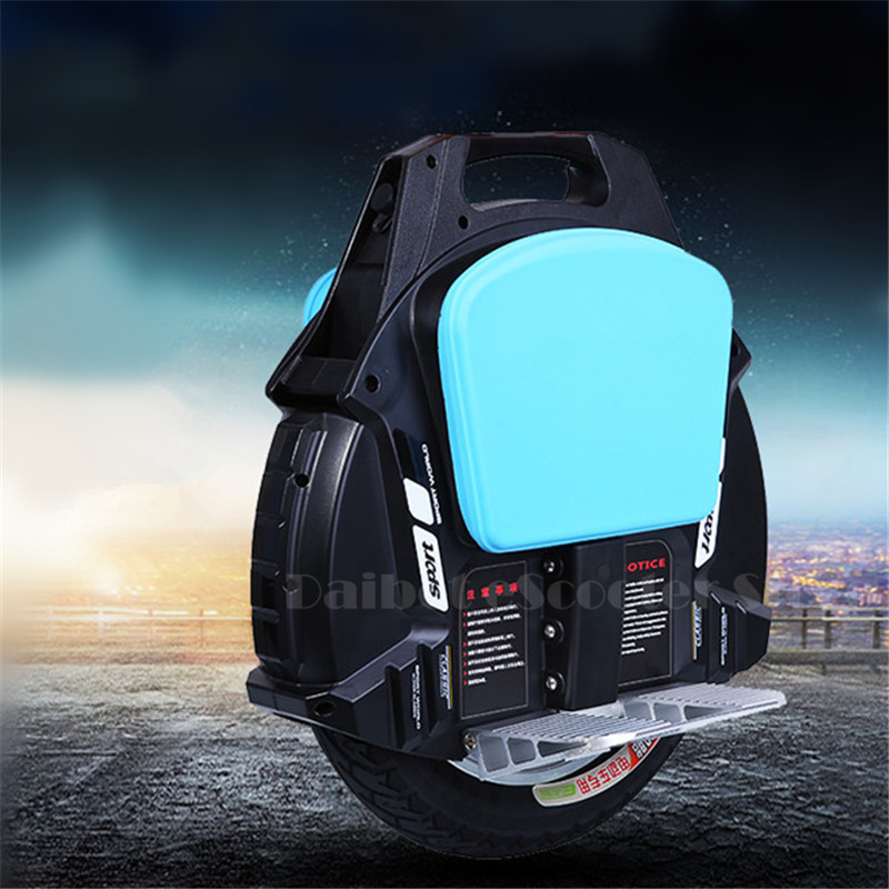 Daibot One Wheel Electric Unicycle Scooter Self Balancing Scooters With Bluetooth Speaker 500W 60V Electric Scooter For Adults (3)