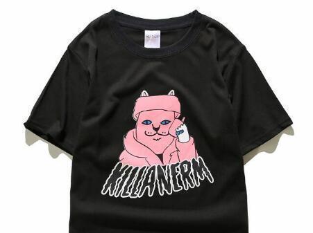 45 p novo design venda quente marca homens clothing imprimir camisa de algodão t-shirt das mulheres dos homens t-shirt de hip hop o-neck manga curta de alta qualidade
