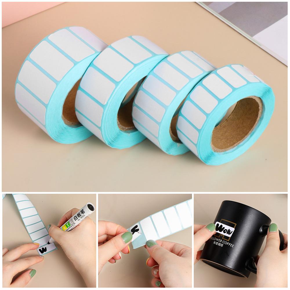 1 Roll 2*1cm Waterproof Adhesive Thermal Paper Label Price Blank Print Stickers
