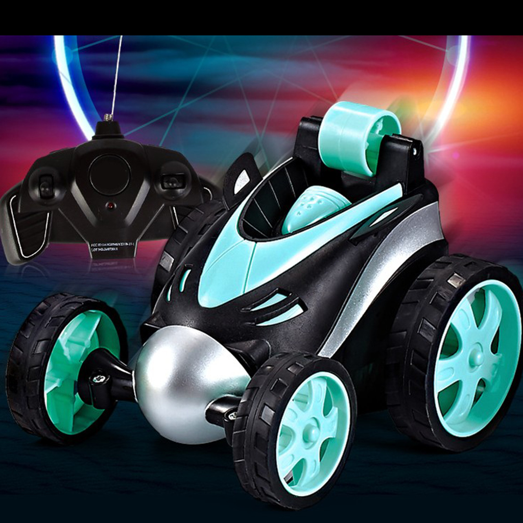 1/24 360 Tumbling Electric Controlled RC Stunt Dancing Car Dasher for Kids Boys Play Toys Birthday Gift