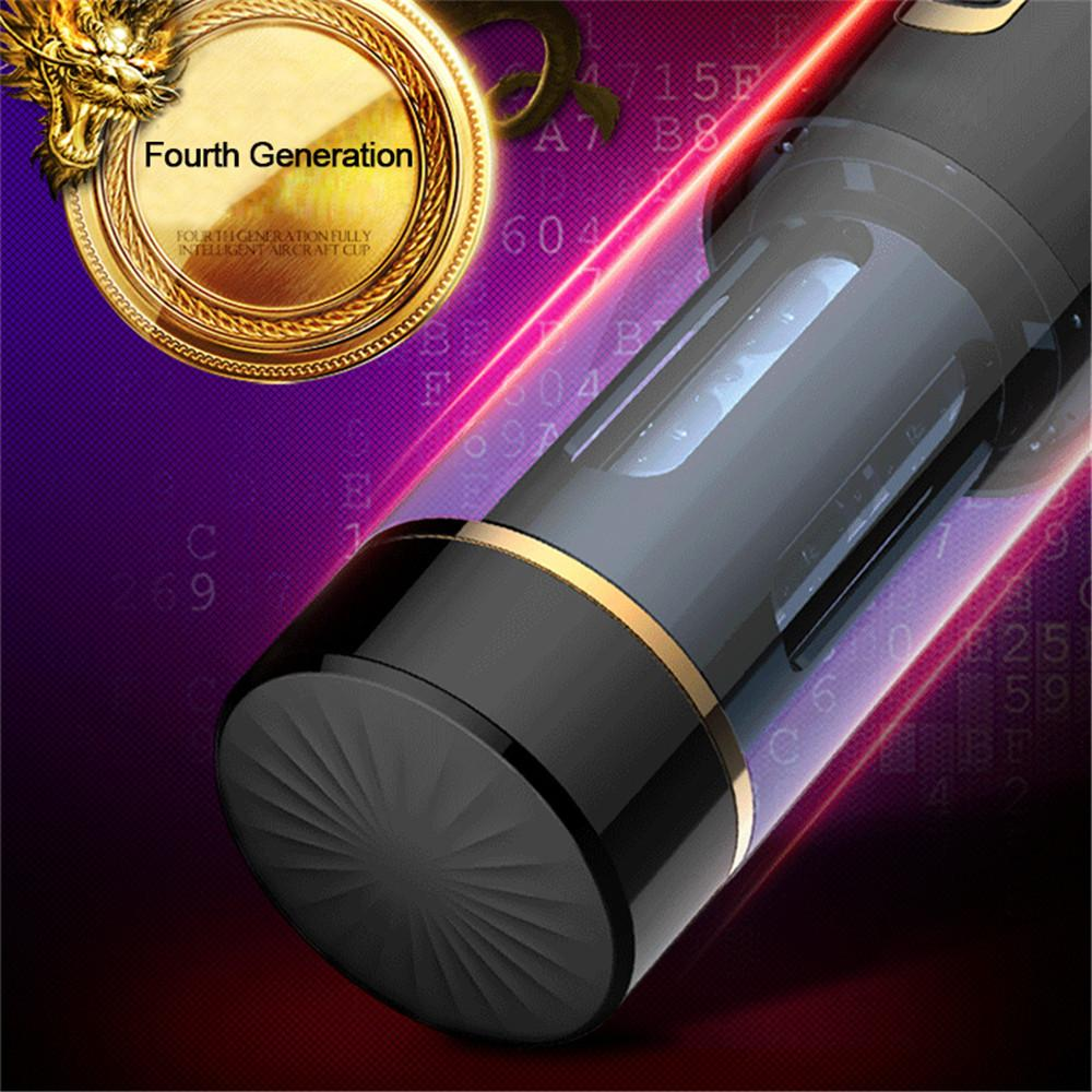 Automatic Telescopic Masturbation Cup Vibrator For Men Real Rotaion Vagina Pussy Oral Sucking Sex Machine Adult Sex Toys For Man (14)