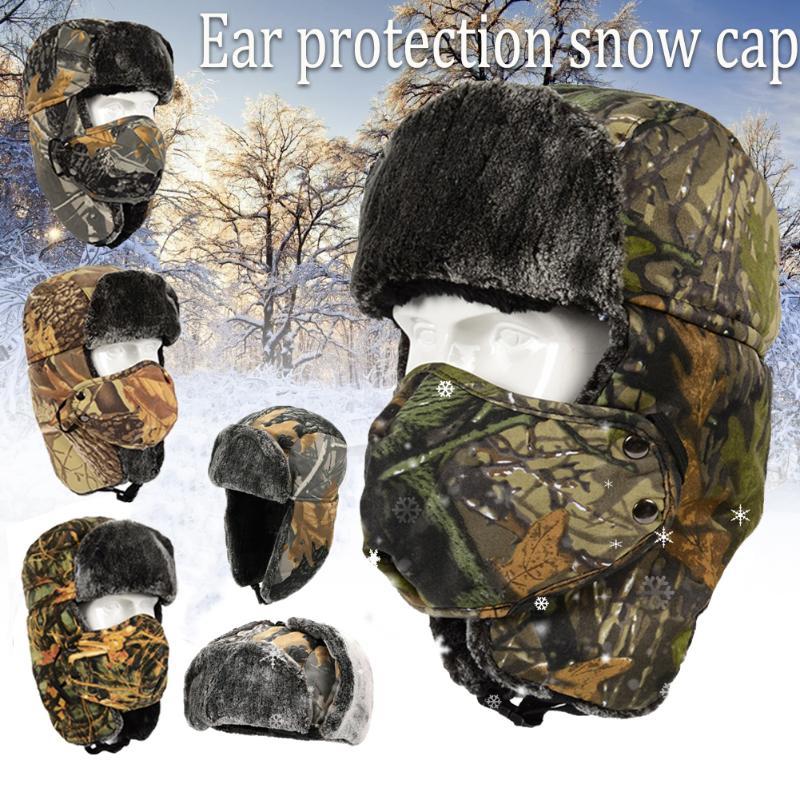 Winter Outdoor Cycling Skiing EarflapLei Feng Hat Ear Protector Warm Mask Cap UK