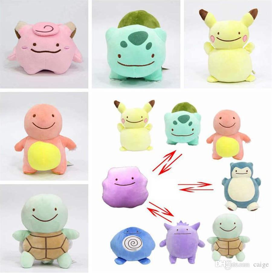 15cm Anime Ditto Plush Stuffed Toy Cute Pillow Doll Kids Christmas Birthday Gift