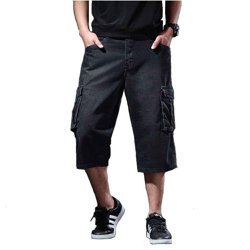 Men Casual Multi Pocket Big and Tall Shorts Big Pocket Overall