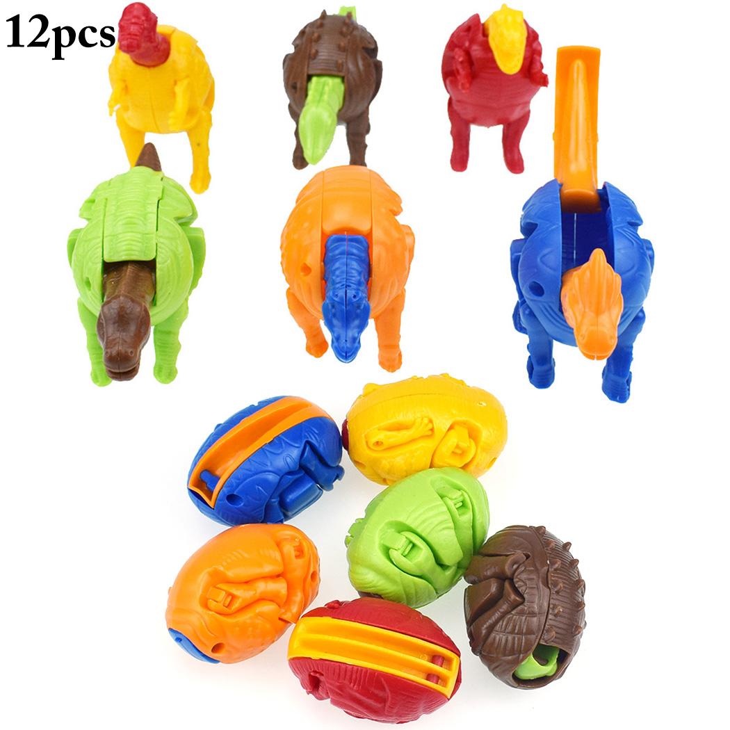 Easter Egg Toys Creative Plastic Dinosaur Egg Toys Easter Party Favors Kids Toys
