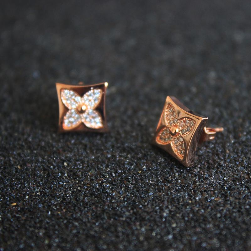 5 piezas de oro hueco corazón encanto tamaño 16x13mm