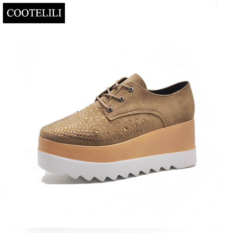 COOTELILI-Fashion-Zipper-Flat-Shoes-Woman-High-Heel-Platform-PU-Leather-Boots-Lace-up-Women-Shoes_-