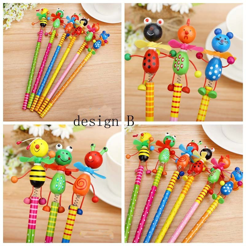 1Pc//2pcs cute colorful smile pencil crayons children drawing gift  ZV