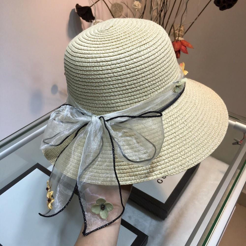 Chapeau plat Cha 2019 pour femme, fin tissage, léger et respirant, pliable, chapeau de plage, chapeau de femme, chapeau