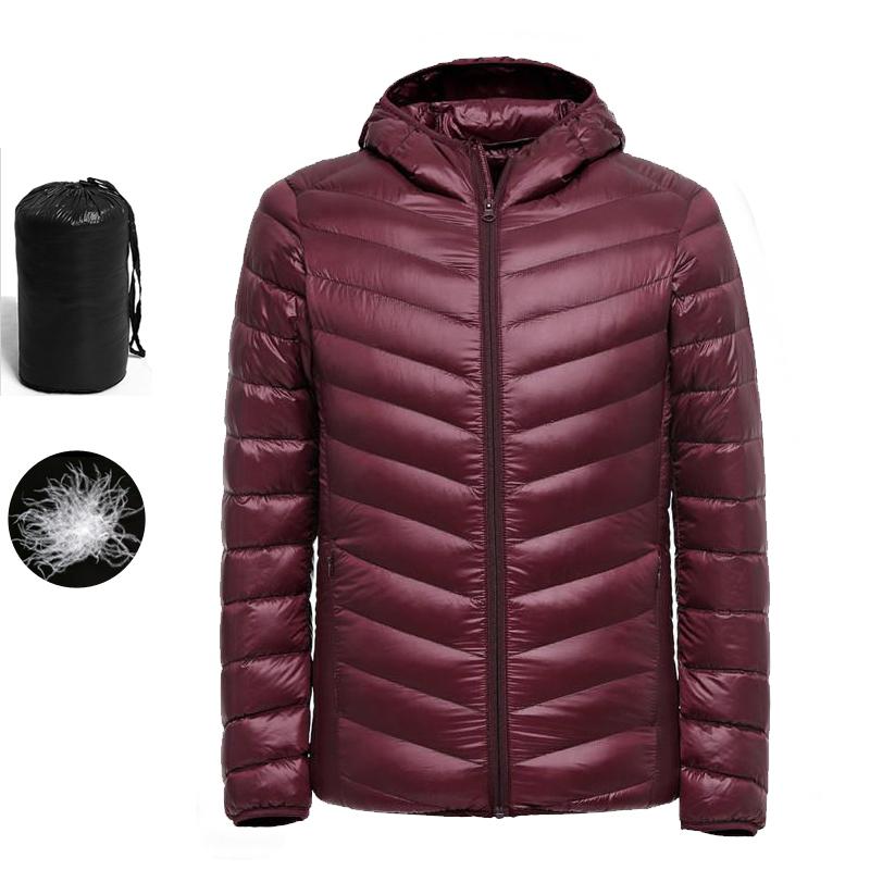 XQS Mens Warm Winter Thicken Parkas Outwear Puffer Down Jackets Coats