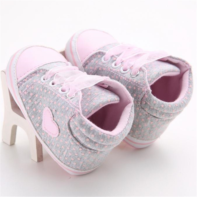 Baby Shoes For Girls Toddler Baby Girl Canvas Heart shape Sneaker Anti-slip Soft Sole Shoes Baby First Walker Shoes M8Y10 (8)