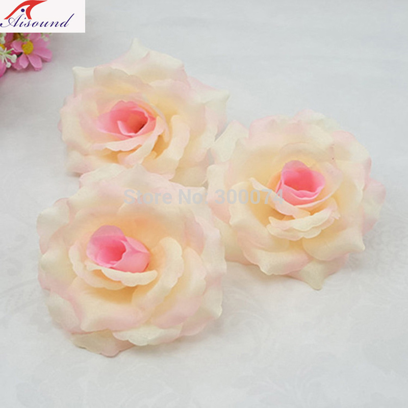 Champagne crafts flowers head