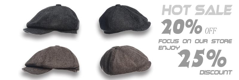 Newsboy cap BT001