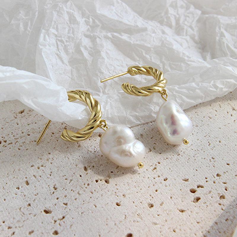 Earring-gold
