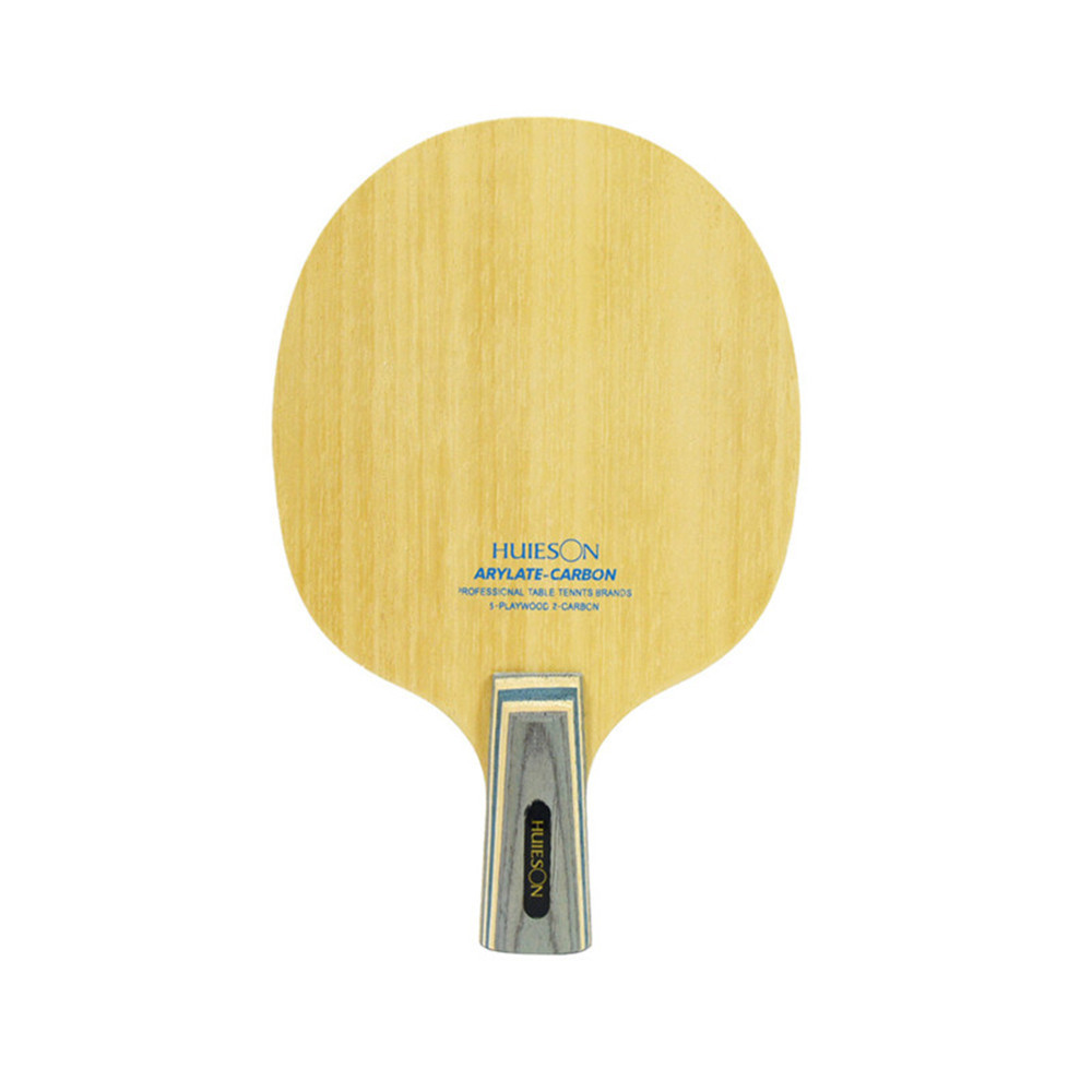 Huieson 7 Ply Arylate Carbon Fiber Table Tennis Blade Lightweight Ping Pong Racket Blade Table Tennis Accessories (1)