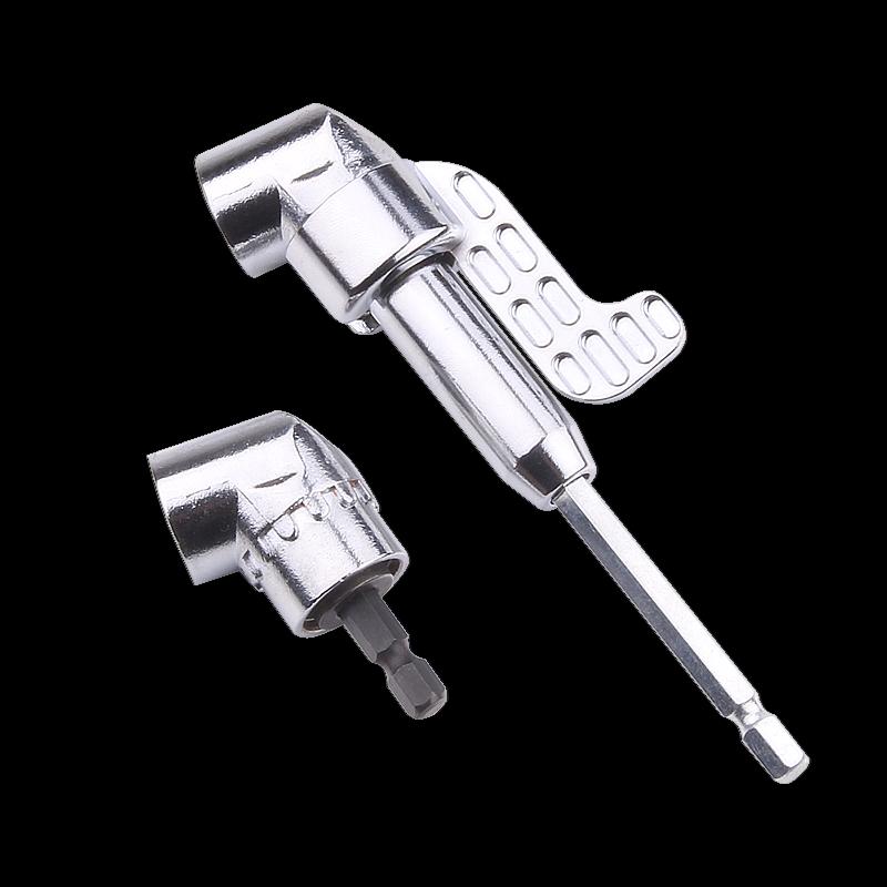 105 Long Turn Corner Bender Electronics Drill Flexible Bits Extension Holder Universal Shaft 12 Pcs Head with Extension Rod 9 Pcs Sleeve
