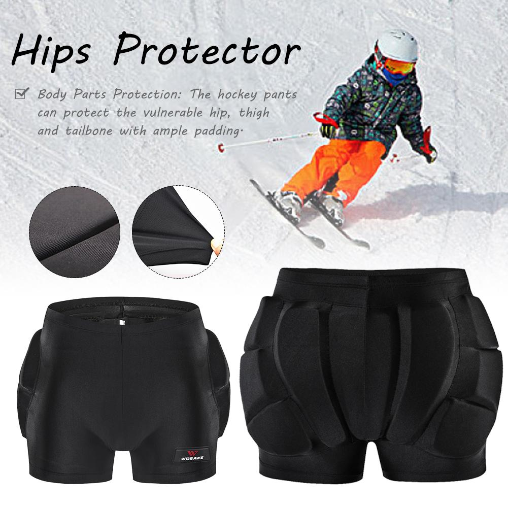 Kids Hip Protector Padded Protective Shorts Diaper Protector Thigh Hip for Sports Ski Snowboard Roller Skating Bike
