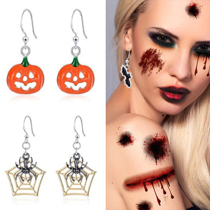 Resin Acrylic Blue Evil Eye Dangle Earrings Exaggerated Cute 3D Red Mouth Lips Drop Earrings Hook for Women Girls